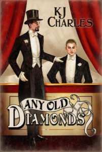 Any Old Diamonds cover showing two men in evening dress