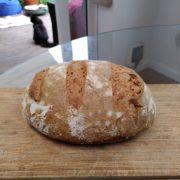 A delicious loaf of bread that I made